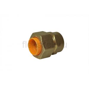 Соединение (муфта) труба-внутренняя резьба (мама) 15*1/2 для газа с диэлектриком