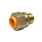 Соединение (муфта) труба-наружная резьба (папа) 15*1/2 для газа с диэлектриком