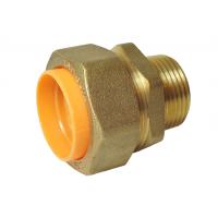 Соединение (муфта) труба-наружная резьба (папа) 20*3/4 для газа с диэлектриком