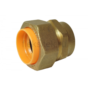 Соединение (муфта) труба-внутренняя резьба (мама) 20*3/4 для газа с диэлектриком